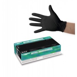 RUCK® Nitrile Disposable Gloves Black SX