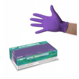 RUCK® Nitrile Disposable Gloves  violet S