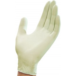 RUCK Latex Disposable Gloves Sensitive small yellow 100pcs