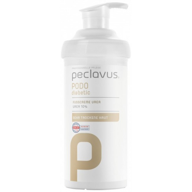 peclavus® PODOdiabetic Urea Foot Cream, 500 ml