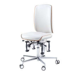 PODOLOG® STOOL bioswing, working chair, mocca